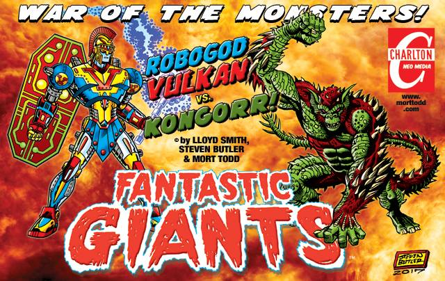 Fantastic Giants by Ol' Groove, Steven Butler, and Mort Todd!