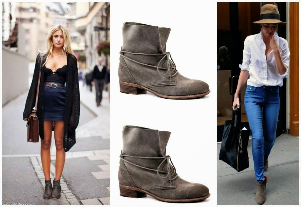 Fold Over Ankle Boots - Cr Boot