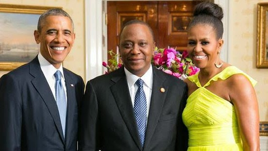 President and First Lady Meet With African Leaders at White House