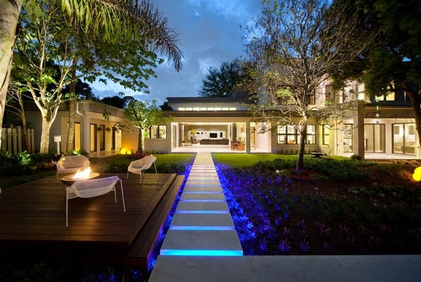 for reading our article about create your modern garden with lighting
