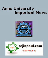Anna University Internal Exam Timetable For April/May 2014 Exams For Anna Univ Affliated Colleges