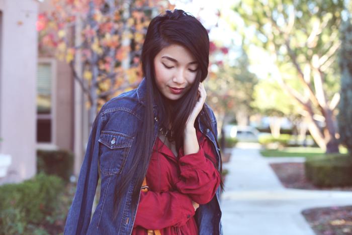 red isabel marant dress
