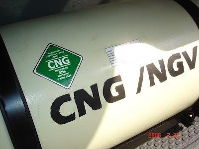 ติดตั้งแก๊ส LPG, CNG แล้ว ต้องรับการตรวจจากกรมการขนส่งทางบก