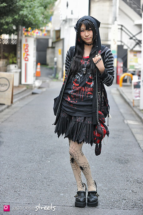 Devilinspired punk clothing get inspirations from japanese street