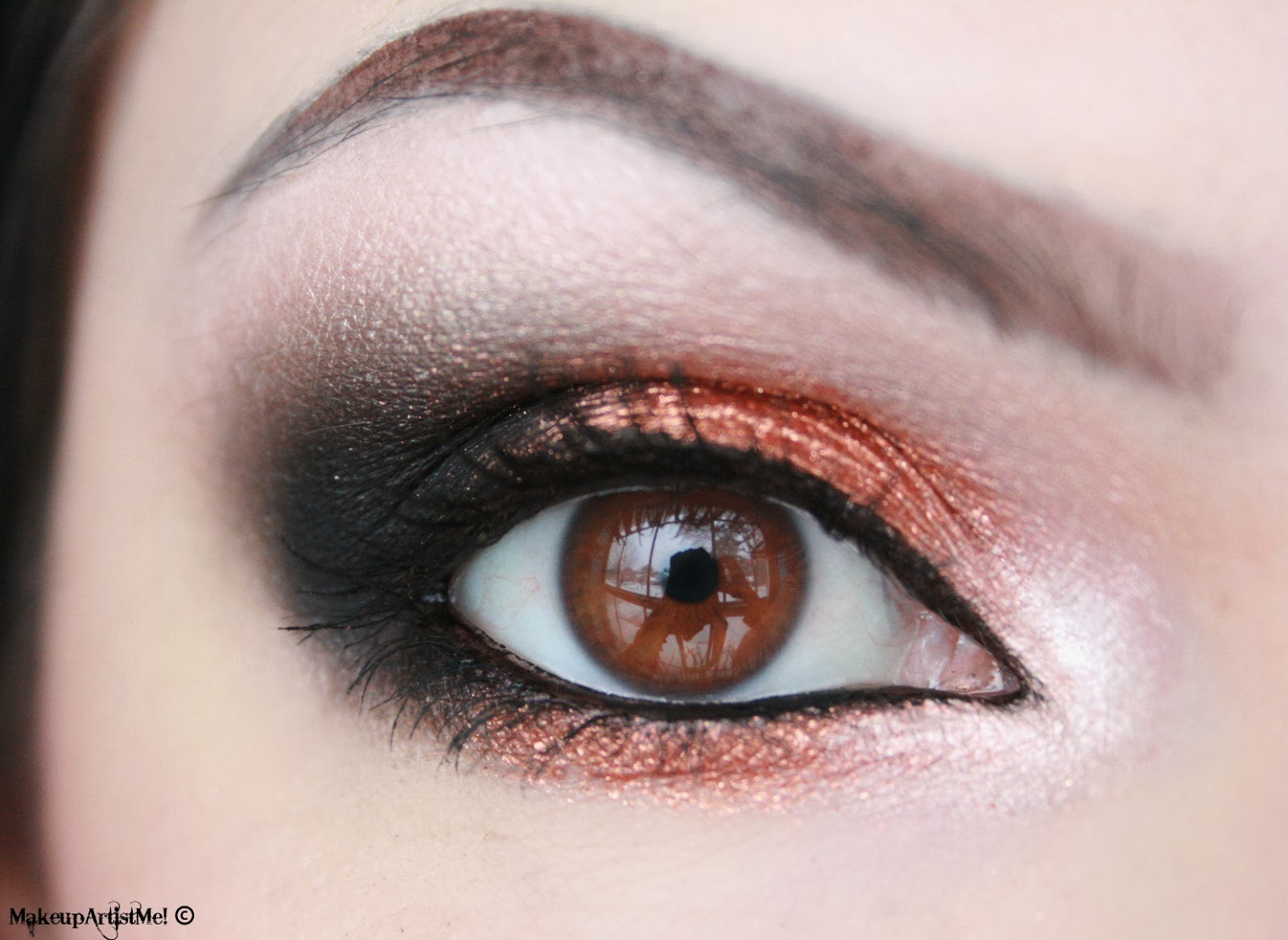 Make Up Artist Me Copper Star Makeup Tutorial