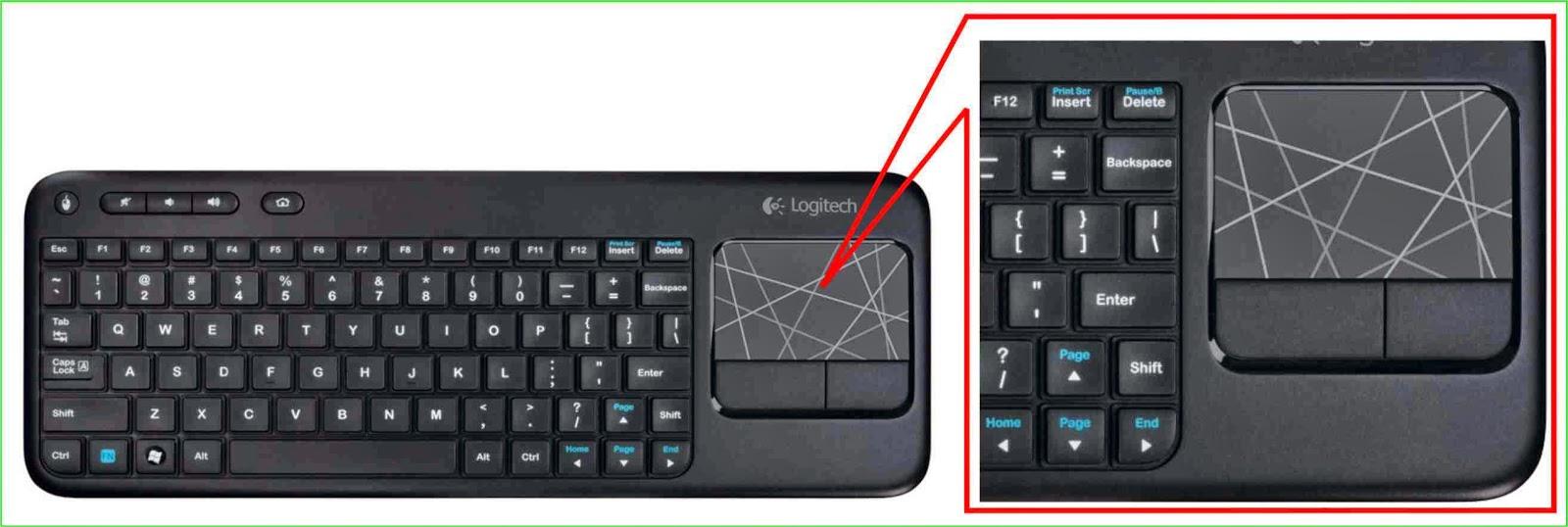 Touchpad pengganti mouse untuk PC