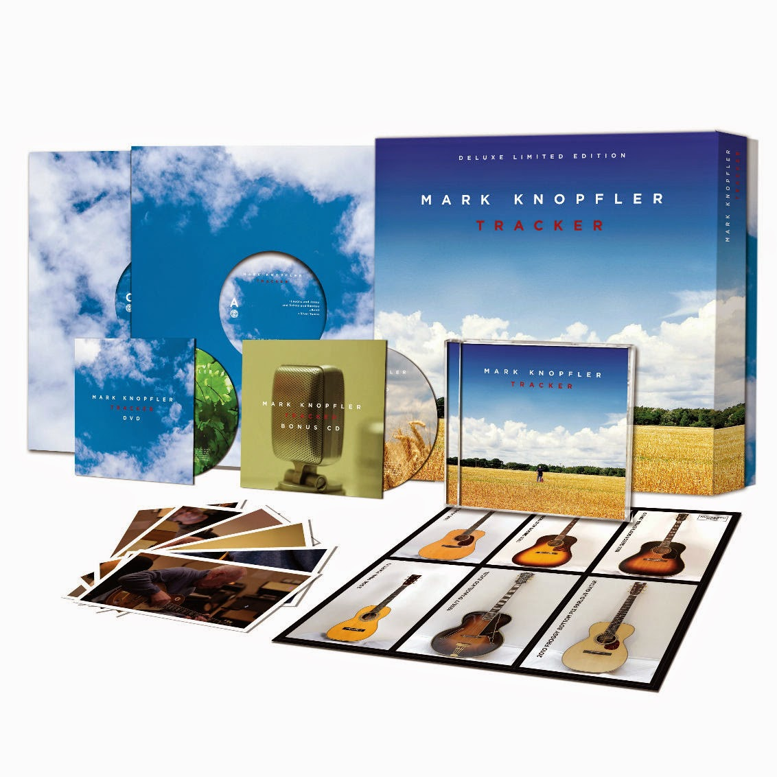Mark Knopfler: Tracker, deluxe limited edition, edición limitada deluxe