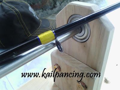 Joran Pancing Custom ROd| www.kailpancing.com