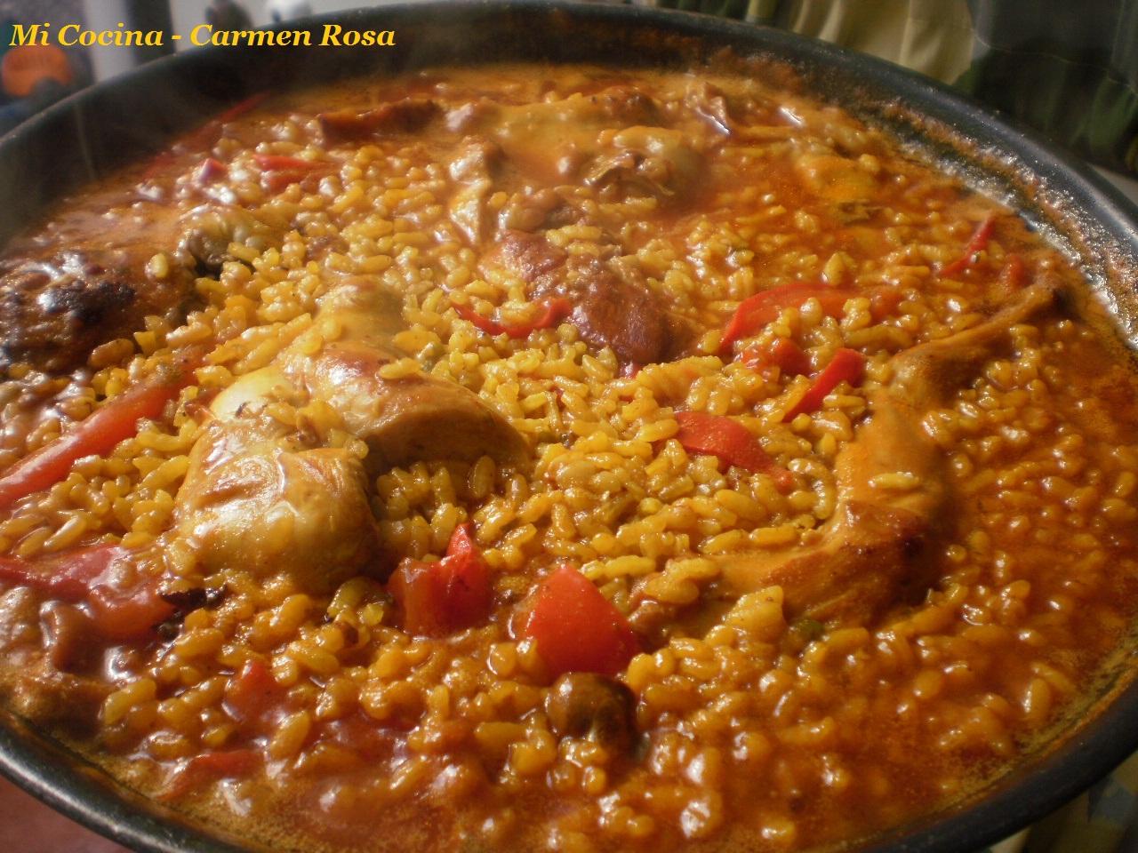 Mi cocina arroz con conejo al estilo de los montes de malaga for Mi cocina malaga