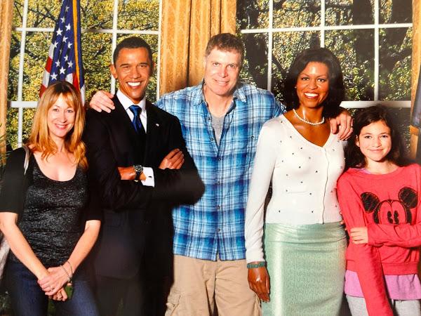 NowThisLife.com - Madame Tussauds - New York - Obamas