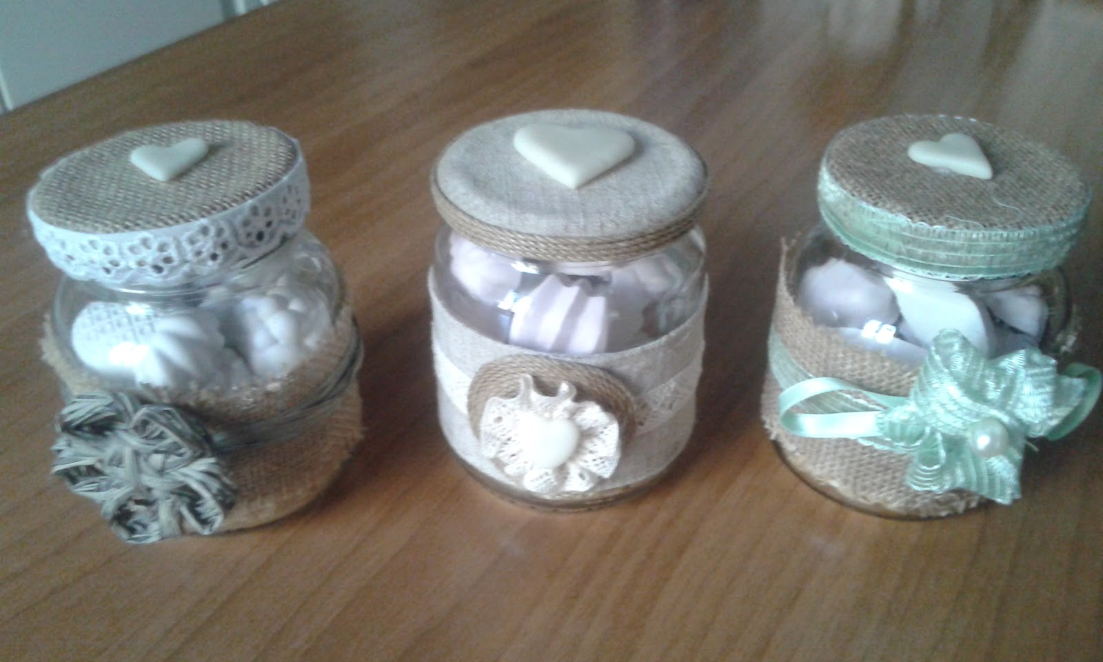 Barattoli di vetro shabby centomilaidee - Decorare lanterne ...