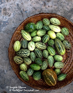 kachri (Cucumis callosus), the wild melon that packs antioxidants and boosts immunity : kachri ki chutney recipe