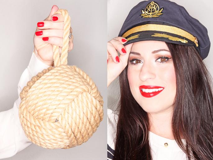 red-nailpolish-nautical-rope-ball-sailing-look-captains-hat-red-lipstick-san-diego-blogger