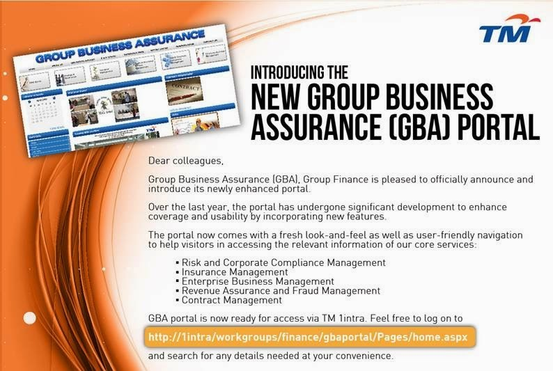 Introducing the New Group Business Assurance (GBA) Portal