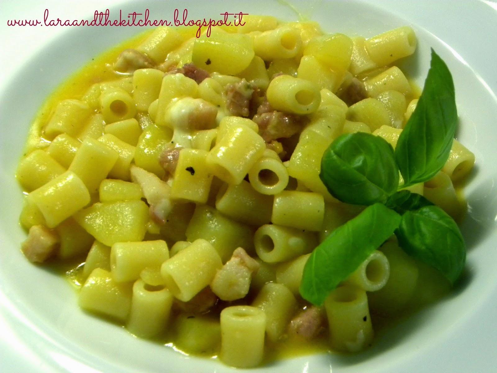 minestra pasta patate