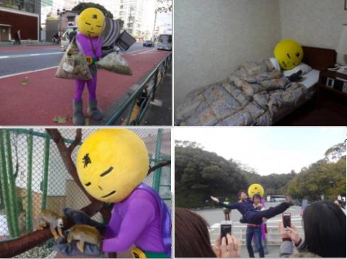 Mangetsu Man - Pahlawan Tanpa Nama Menjaga Tokyo Tetap Bersih