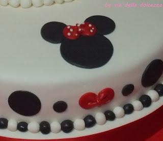 Torta isdpirata a Minnie