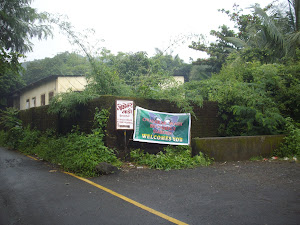 "Entrance to Ovalekar Wadi, the 2 acre ""Butterfly Garden"" of Mumbai."