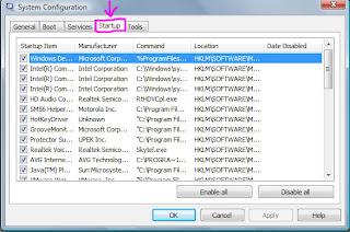 Cara Mempercepat Start Up program Windows