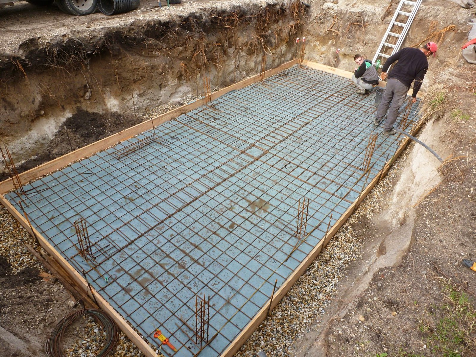 Projet tapes de construction d 39 une piscine en gironde for Construction de piscines