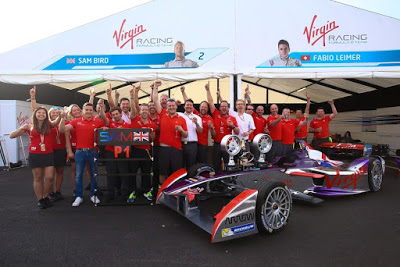Virgin Racing introduces the future of Motorsport. It's Formula E
