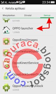 Cara menghapus ikon apilkasi android