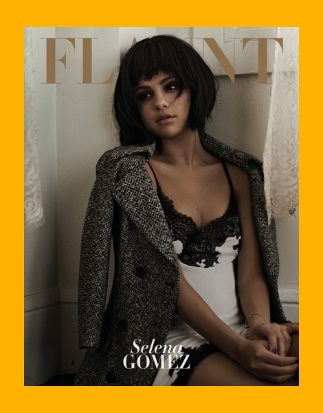 Selena Gomez covers Flaunt Magazine: The Battle Issue