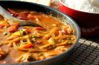 Easy Chicken and Vegetable Curry
