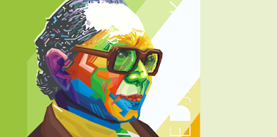 Soedjatmoko in WPAP by Ichwan Ramburi