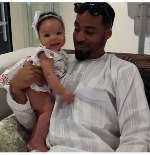Venita Akpofure Not Tired Of Flaunting Super Cute Hubby, Adorable Daughter (Photos)