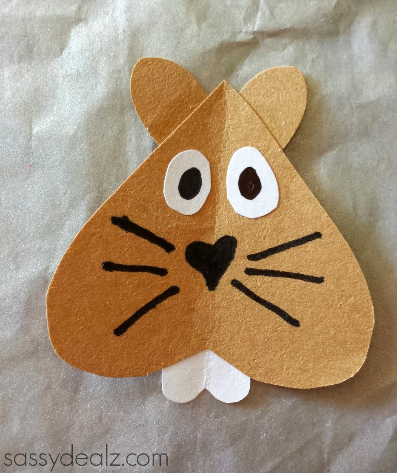 groundhog craft for kids