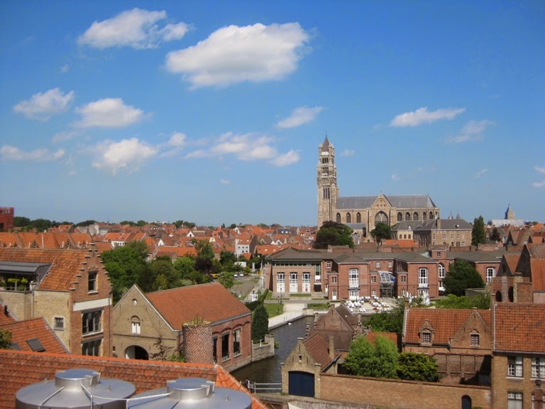 Brewery Rooftop View Bruges
