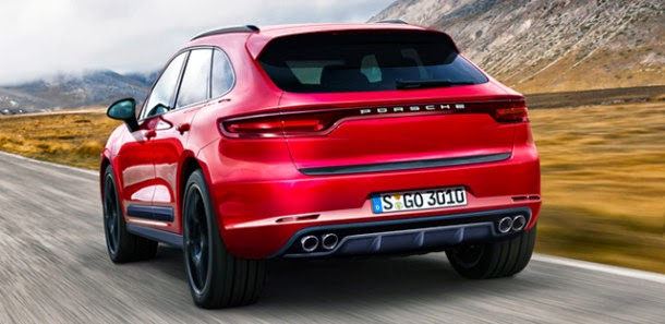 Porsche Macan Turbo HD Wallpaper