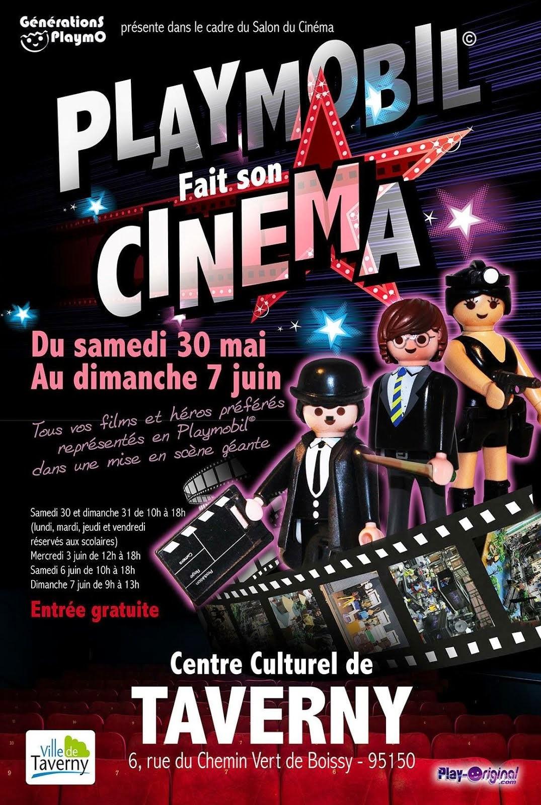 Les Studios de Cinéma de Taverny, 30 mai-7 juin 2015