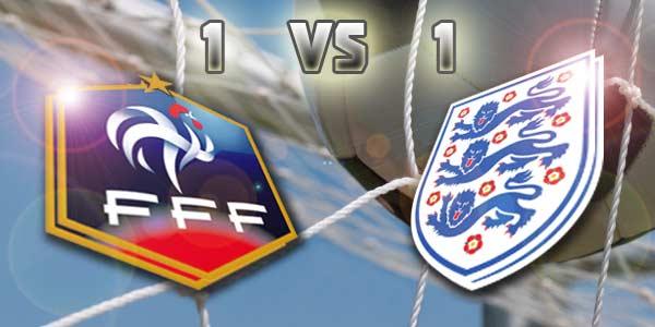 Prancis-Inggris Berakhir Imbang