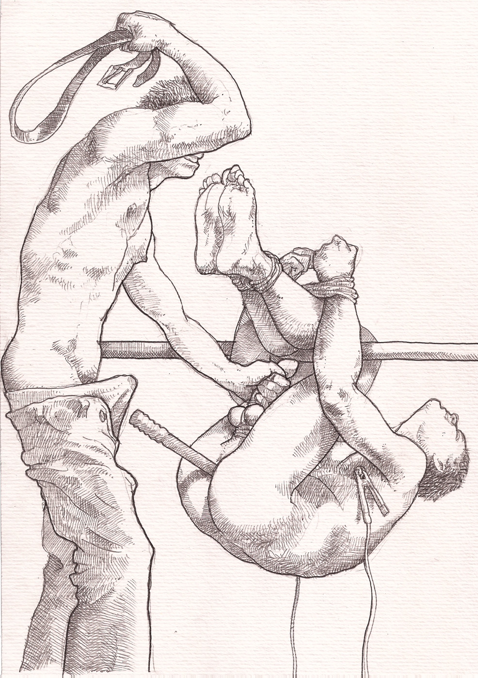 Male bdsm drawings