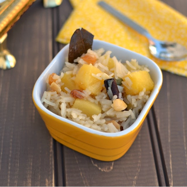 Pineapple Sweet Pulao