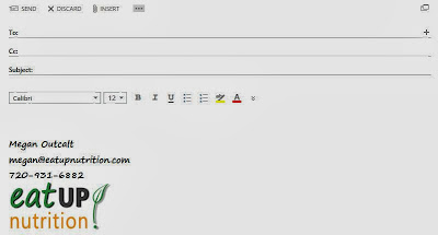 ... to your ema... Picture In Email Signature Outlook Web App