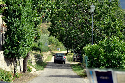 Road out of Lamole, Italy | Taste As You Go