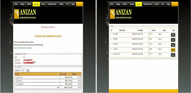 Anizan Google Adsense Alternative