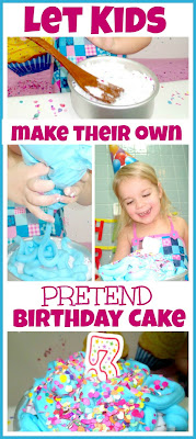 birthday cake play
