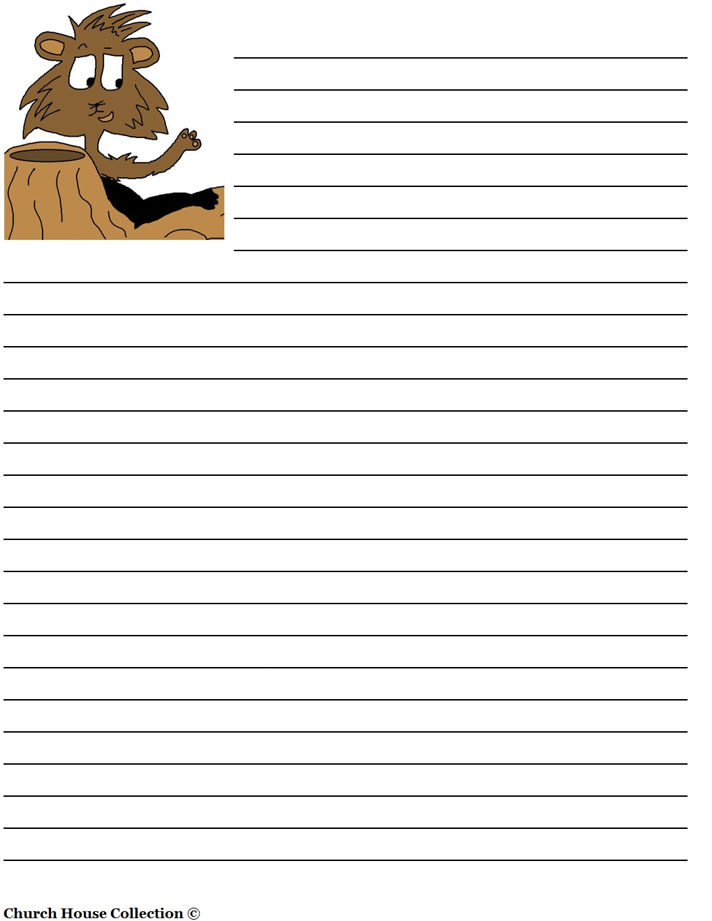 handwriting paper to print free printable writing paper