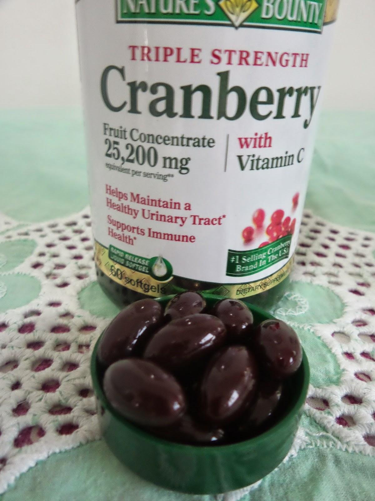 Cranberry em Cápsulas para combater Infecção Urinária
