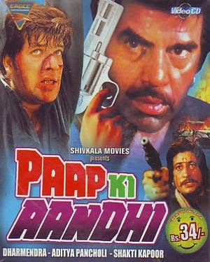 Paap Ki Aandhi 1991 Hindi Movie Watch Online