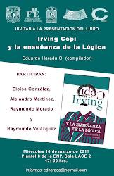 """Book presentation: """"Irving Copi y la enseñanza de la lógica"""""""
