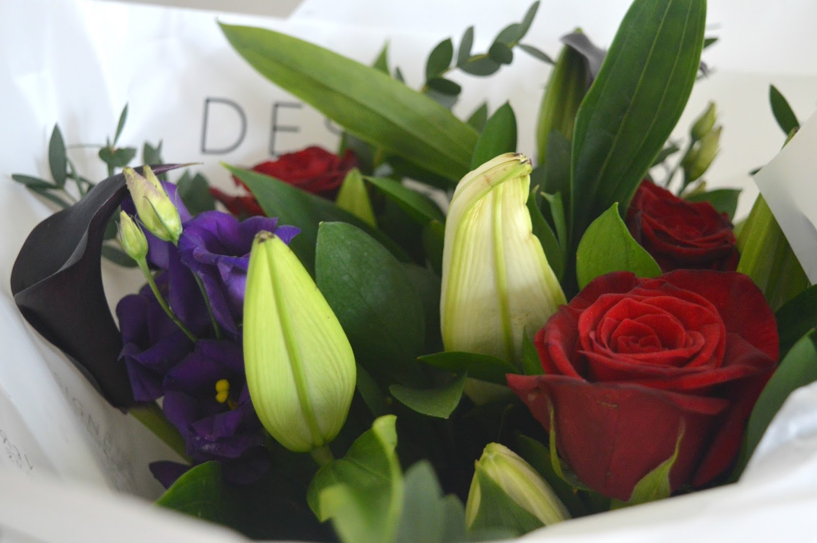 Happy valentines day with debenhams flowers new girl in toon izmirmasajfo