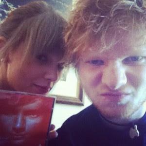 Ed sheeran y Taylor Swift no fueron ni serán novios por que el se considera feo.
