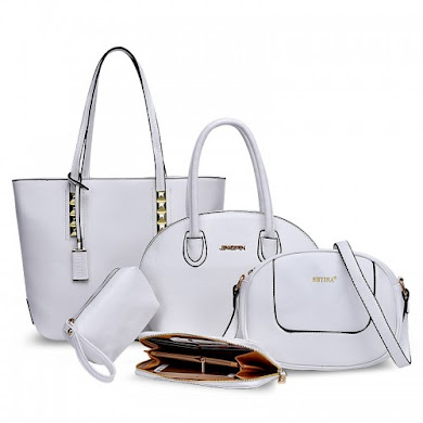 MULTI FUNCTION BAG (5 IN 1 SET) - WHITE
