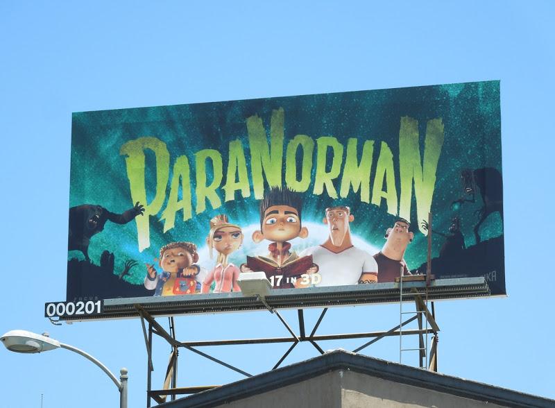 ParaNorman movie billboard