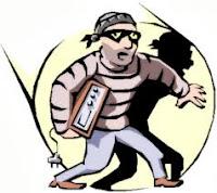 azimat untuk memukul pencuri
